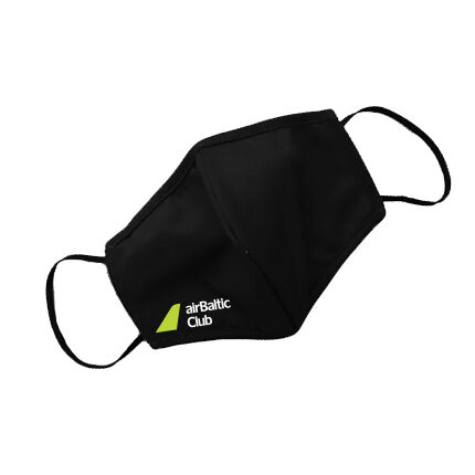 airBaltic Club protective face mask, XL, reusable