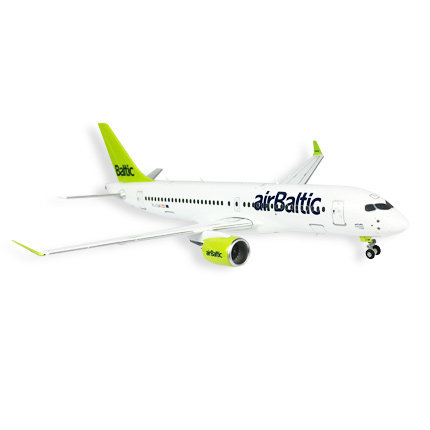 Airbus A220-300 collector's model