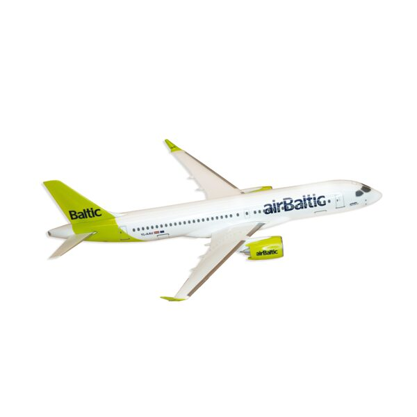 Airbus A220-300 collector's miniature model